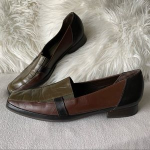 Vintage Amalfi Made in Italy Leather Loafers
